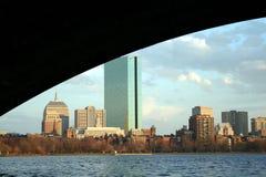 городской пейзаж boston Стоковые Изображения RF