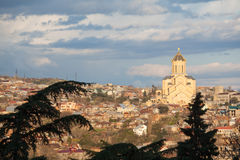 городской пейзаж Georgia tbilisi Стоковые Изображения RF