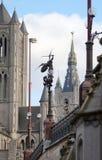 городской пейзаж ghent Бельгии Стоковая Фотография RF
