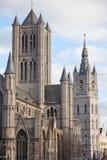 городской пейзаж ghent Бельгии Стоковые Изображения RF