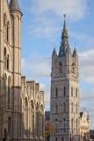 городской пейзаж ghent Бельгии Стоковое Изображение RF