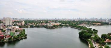 городской пейзаж hanoi Вьетнам стоковые фото