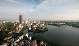 городской пейзаж hanoi Вьетнам стоковые изображения