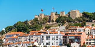 городской пейзаж lisbon Португалия Стоковые Фотографии RF