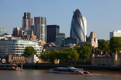 городской пейзаж london самомоднейший Стоковые Изображения RF