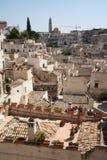 Городской пейзаж Matera di Sassi Стоковые Фото