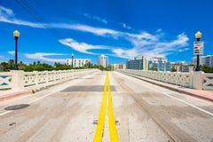 Городской пейзаж Miami Beach Стоковая Фотография RF