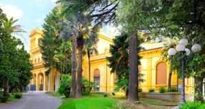 Городской пейзаж Montekattini, Италии стоковая фотография rf