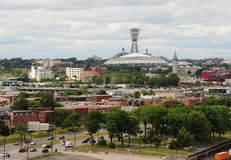 городской пейзаж montreal Стоковые Фотографии RF