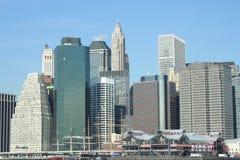 городской пейзаж New York стоковые фотографии rf