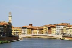 Городской пейзаж Pisa Стоковая Фотография