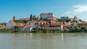 Городской пейзаж Ptuj стоковое изображение rf