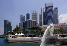 городской пейзаж singapore Стоковое Изображение