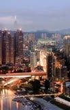 городской пейзаж taipei стоковые фотографии rf