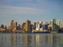 городской пейзаж vancouver Канады Стоковые Фото