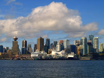 городской пейзаж vancouver Канады Стоковое фото RF