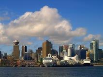 городской пейзаж vancouver Канады Стоковые Изображения RF