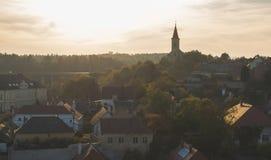 городской пейзаж Veszprém, Венгрия, Европа стоковое фото rf