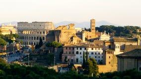 Городской Рим видеоматериал