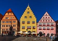 Городской - Ротенбург-ob-der-Tauber - немец стоковые фотографии rf