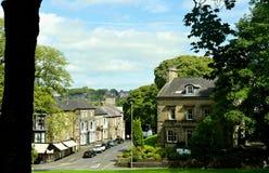 Городской центр Buxton стоковая фотография rf