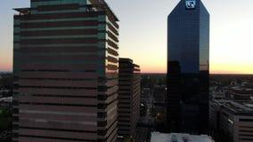 Городской Lexington Кентукки на восходе солнца видеоматериал