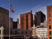Городской Rochester, Нью-Йорк стоковые фото