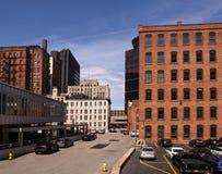 Городской Rochester, Нью-Йорк стоковые фотографии rf