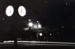 Городской Tallahassee в темноте Стоковая Фотография