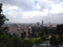 Город ¡ Bogotà стоковое фото rf