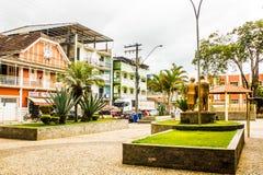 Город ¡ Jequitibà альта, положение Gerais мин, Бразилия стоковая фотография