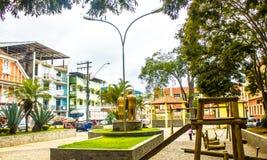 Город ¡ Jequitibà альта, положение Gerais мин, Бразилия стоковые изображения rf