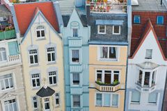 Город Аахена, Германии стоковые фотографии rf