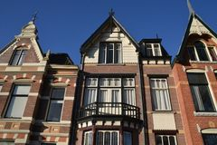 Город Алкмара ландшафта Голландии Стоковые Фото