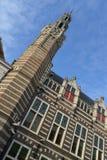 Город Алкмара ландшафта Голландии Стоковое фото RF