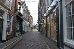 Город Алкмара ландшафта Голландии Стоковая Фотография RF