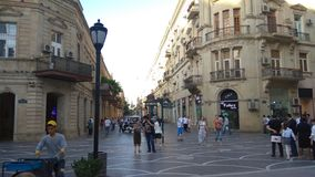 Город Баку старый стоковая фотография