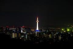 Город башни и Киота Токио Стоковое Изображение RF