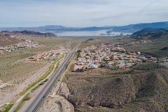 Город Больдэра в Неваде, Соединенных Штатах стоковая фотография