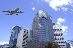 Город Брисбена, самомоднейшее зодчество стоковые изображения