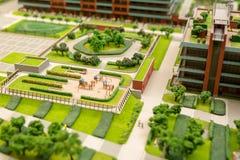 Город будущего стоковое изображение
