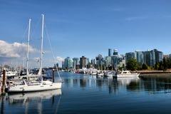 Город Ванкувера стоковое фото