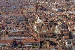 Город Венеции от меток St придает квадратную форму в Венеции, Италии Церковь, архитектура стоковое фото rf