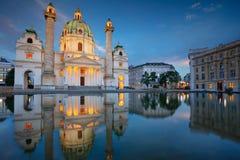 Город вены, Австрии Стоковое Фото