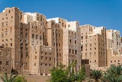 Город в Йемене Стоковое Фото