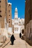 Город в Йемене Стоковое Изображение RF