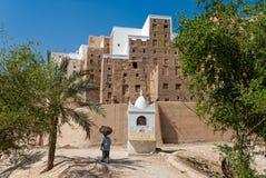 Город в Йемене Стоковые Фото