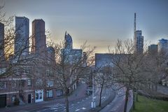 Город Гааги в Нидерландах Стоковое фото RF