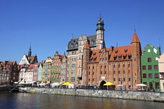 Город Гданьск (Danzig), Польша Стоковое Фото