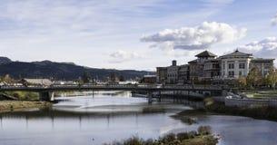 Город горизонта Napa Калифорнии стоковые фото